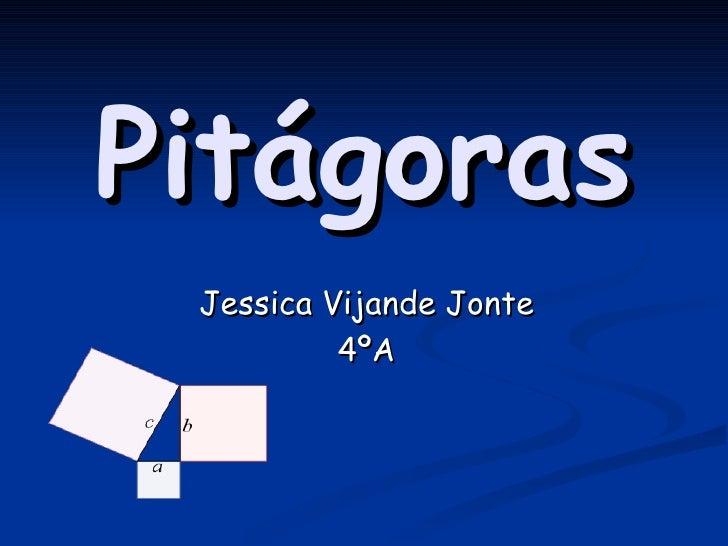 Pitágoras Jessica Vijande Jonte 4ºA