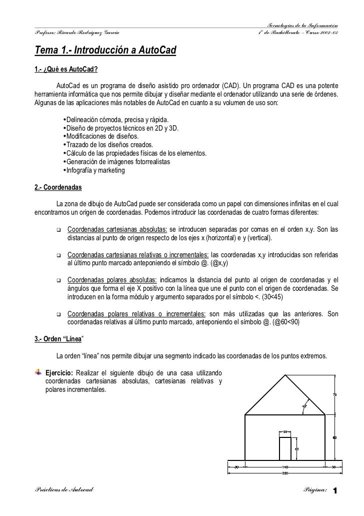 Tecnologías de la Información Profesor: Ricardo Rodríguez García                                                1º de Bach...