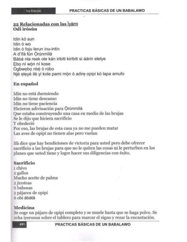Practicas basicas de um babalawo 05