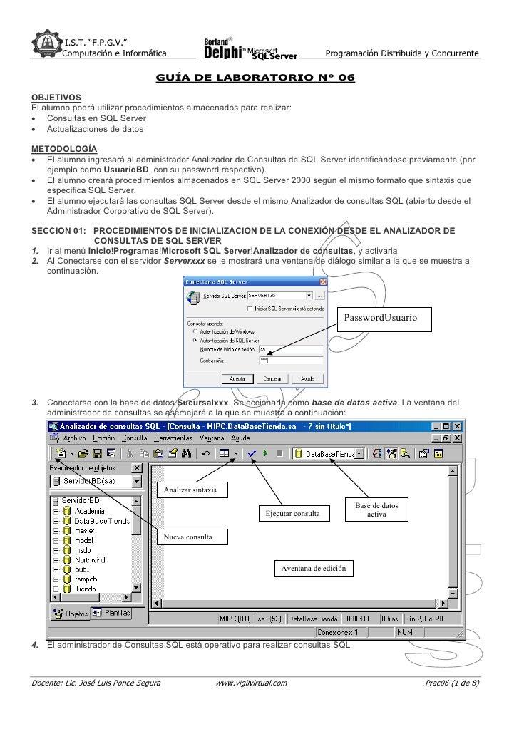 """I.S.T. """"F.P.G.V.""""         Computación e Informática                                                         Programación D..."""