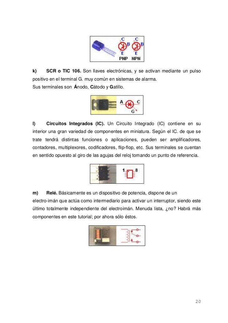 Circuito Com Scr Tic 106 : Practicas laboratorio de circuitos eléctricos aplicados en