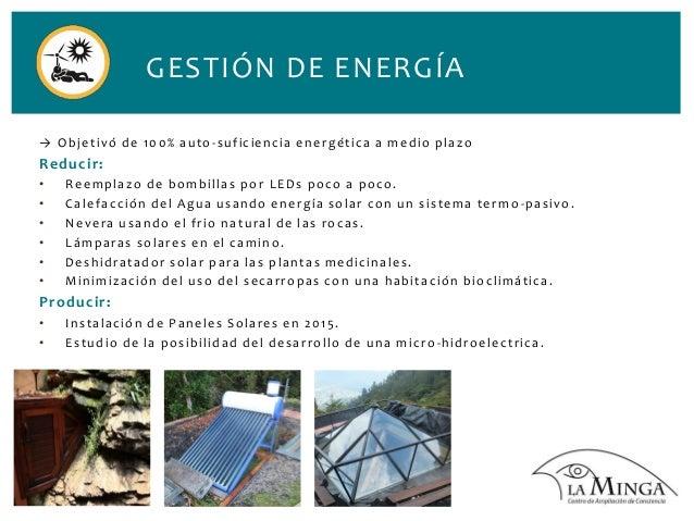 Practicas Sostenibles de La Minga - Colombia Slide 3