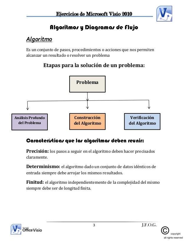 Practica visio empresas 3 ejercicios de microsoft visio 2010 3 jfog algoritmos y diagramas de flujo ccuart Images