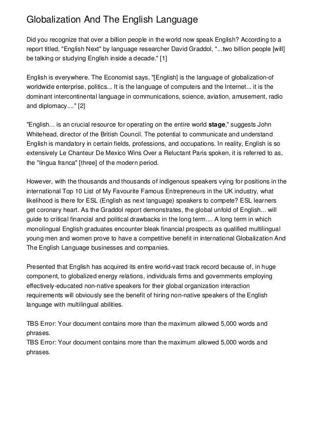 Globalizationandtheenglishlanguagejpgcb - Which language is spoken by maximum in world
