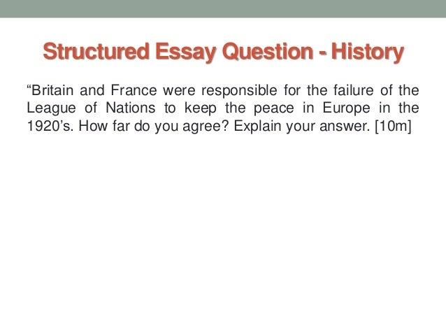 a level history essay
