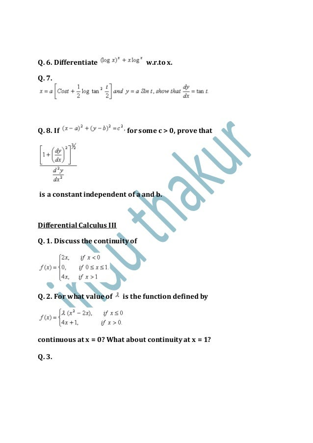 Math 1100 writing assignment 10 derivatives