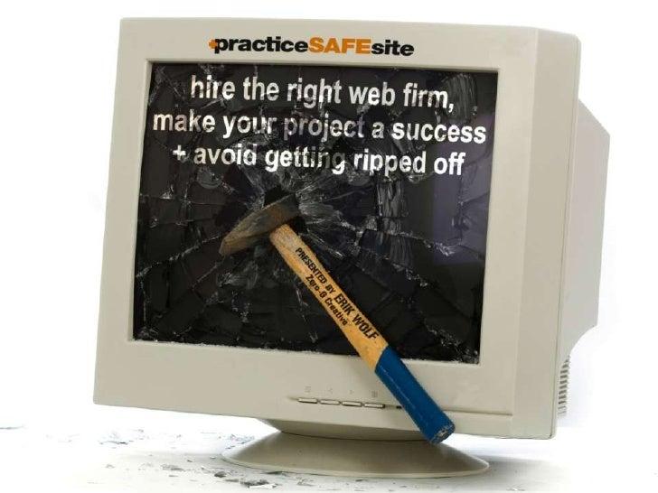 Practice Safe Site by Erik Wolf | Zero-G Creative
