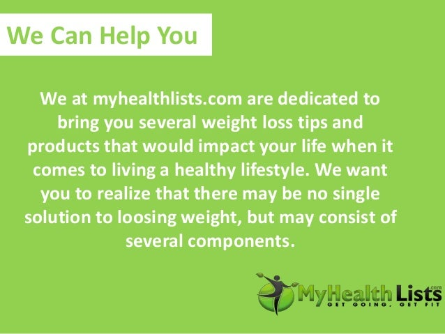 Practice simple weight loss tips at my health lists