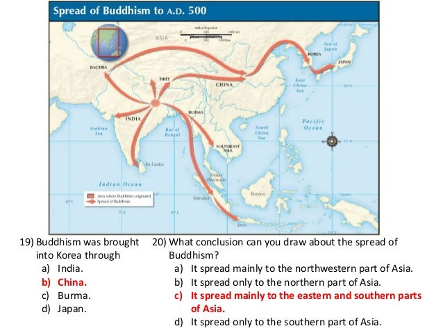 responses to the spread of buddhism Sample 1 - buddhism in china based on the documents, analyze responses to the spread of buddhism in china what additional document(s) would you need to evaluate the extent of buddhism's appeal.