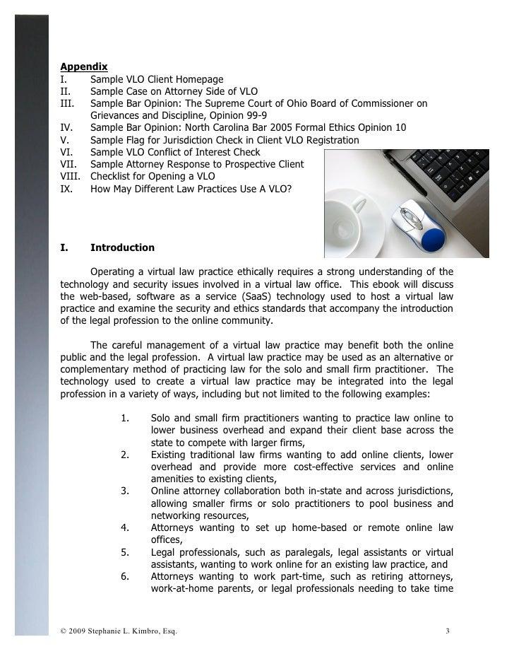 Practicing law online ebook 5.17 Slide 3