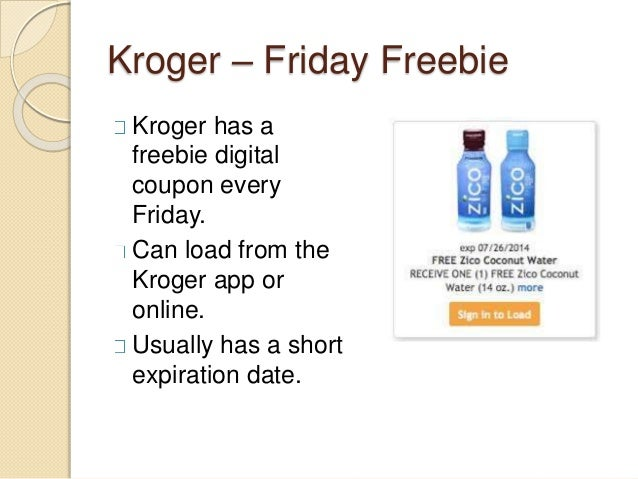 Kroger softcoin coupons