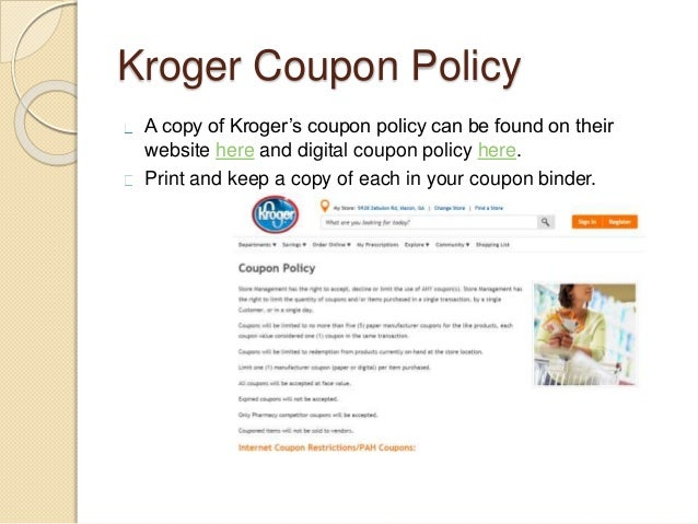 Discounts average $29 off with a Kroger promo code or coupon. 19 Kroger coupons now on RetailMeNot.
