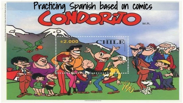 Practicing Spanish based on Comics (Condoritos Comics Book 1)