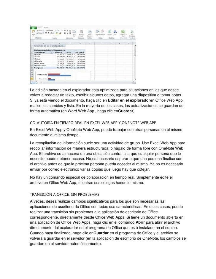 La edición basada en el explorador está optimizada para situaciones en las que deseevolver a redactar un texto, escribir a...