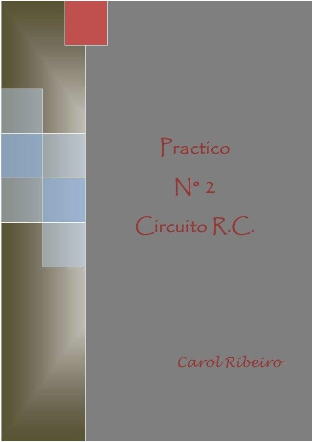 Circuito Rc : Circuito r.c