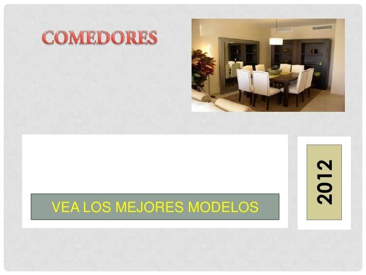 2012VEA LOS MEJORES MODELOS