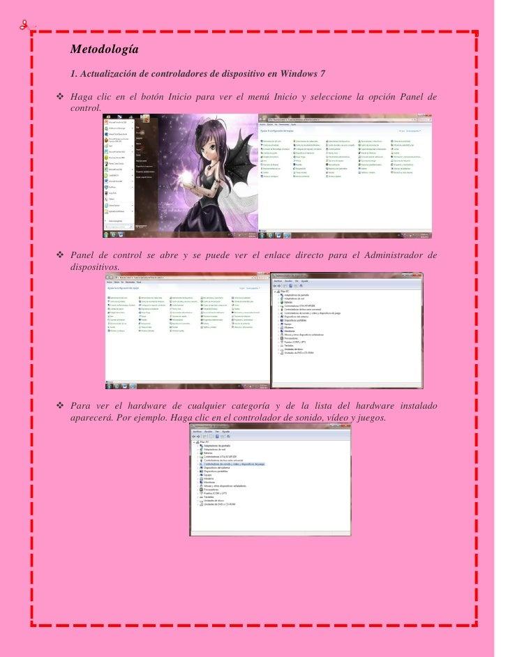  Haga clic en el controlador de sonido se muestran. Verá la opción Actualizar software   de controlador. Haga clic en el...