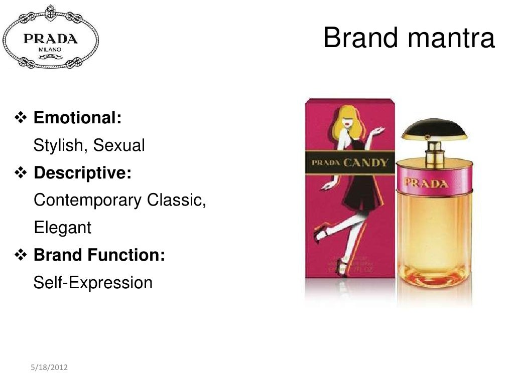 brand mantra emotional stylish sexual