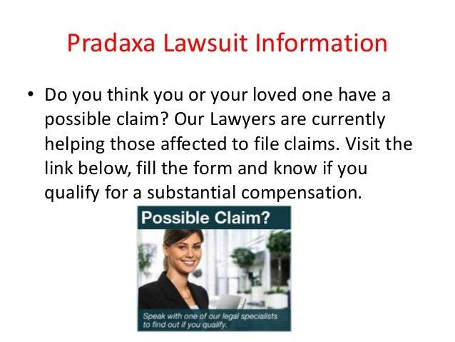 Pradaxa Lawsuit Slide 2