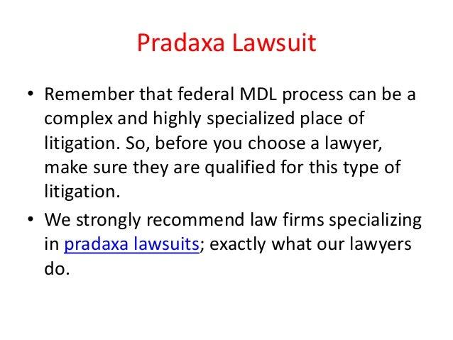 Pradaxa Lawsuit Slide 3