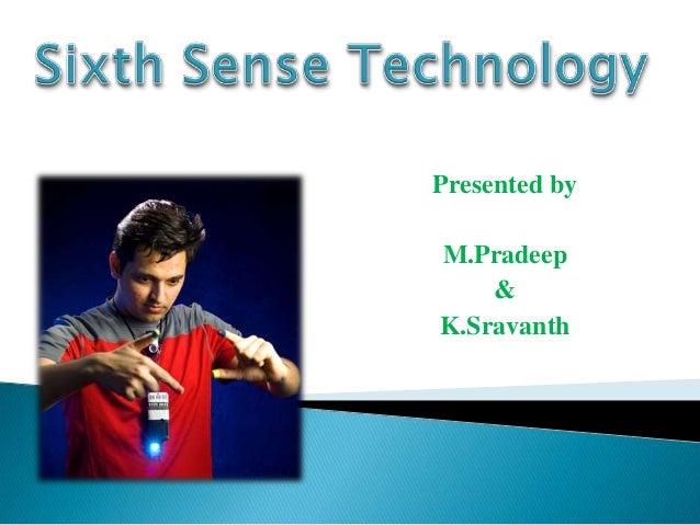 Presented by M.Pradeep & K.Sravanth