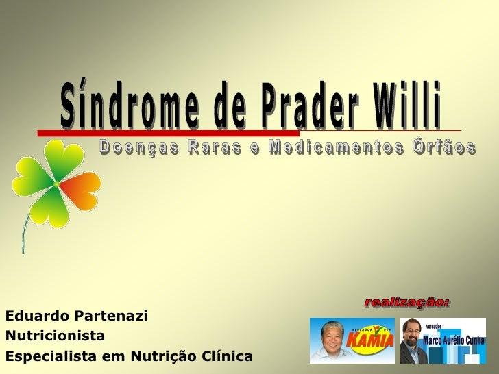 Eduardo Partenazi Nutricionista Especialista em Nutrição Clínica