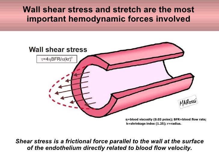 how to get wall shear stress