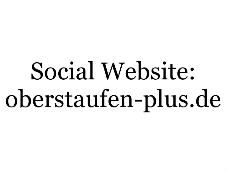 Social Website: oberstaufen-plus.de