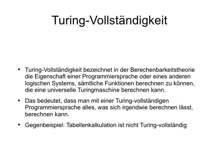 Esoterische Programmiersprachen nummer 3 Slide 3
