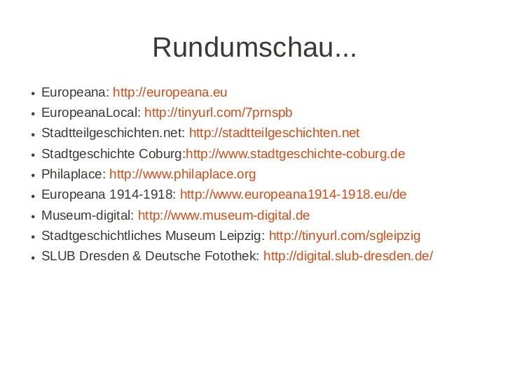 "Kurzvorstellung ""Sehliser Digitale Chronik"" am 16.3.2012 Slide 2"