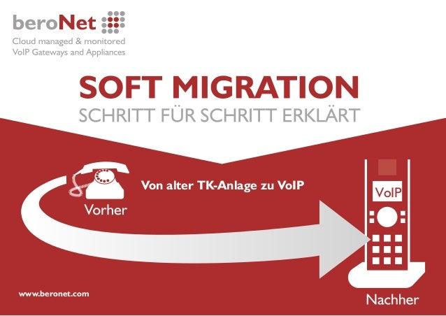 VoIP www.beronet.com Von alter TK-Anlage zu VoIP