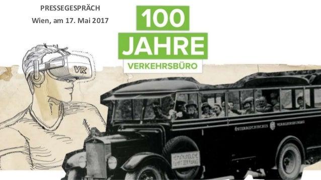 PRESSEGESPRÄCH Wien, am 17. Mai 2017