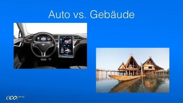 Auto vs. Gebäude