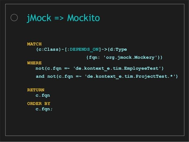 MATCH (cl:JacocoClass)--(m:JacocoMethod)-- (c:JacocoCounter {type: 'COMPLEXITY'}) WHERE c.missed + c.covered > 5 AND NOT(m...