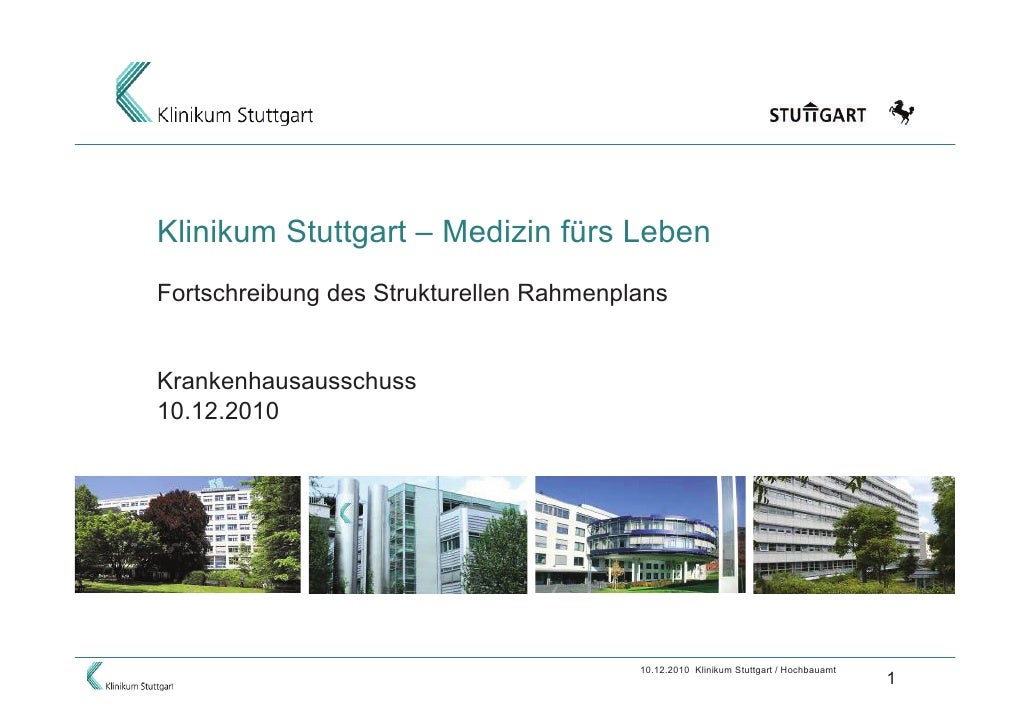 Präsentation Klinikum Stuttgart