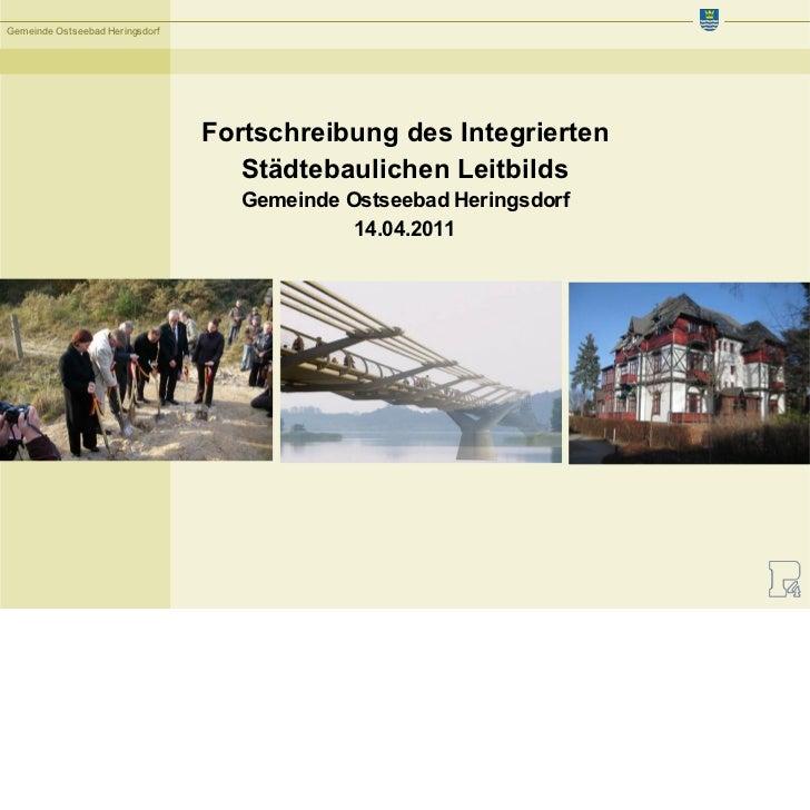 Gemeinde Ostseebad Heringsdorf                                 Fortschreibung des Integrierten                            ...
