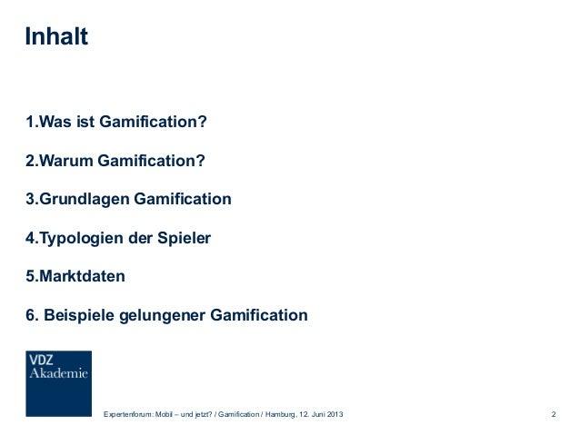 Gamification Nur ein weiteres Buzz-Word oder doch ein aussichtsreicher Marketing-Trend? Slide 2