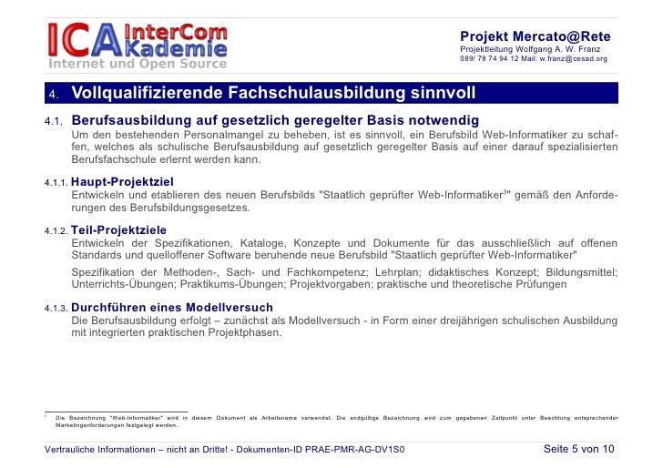 Projekt Mercato@Rete                                                                                                      ...