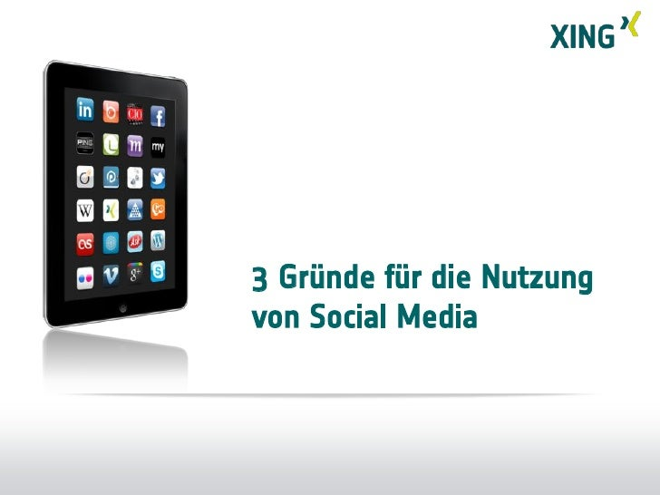 Präsentation von Stefan Schmidt-Grell (XING AG) auf der Zukunft Personal 2011 Slide 3