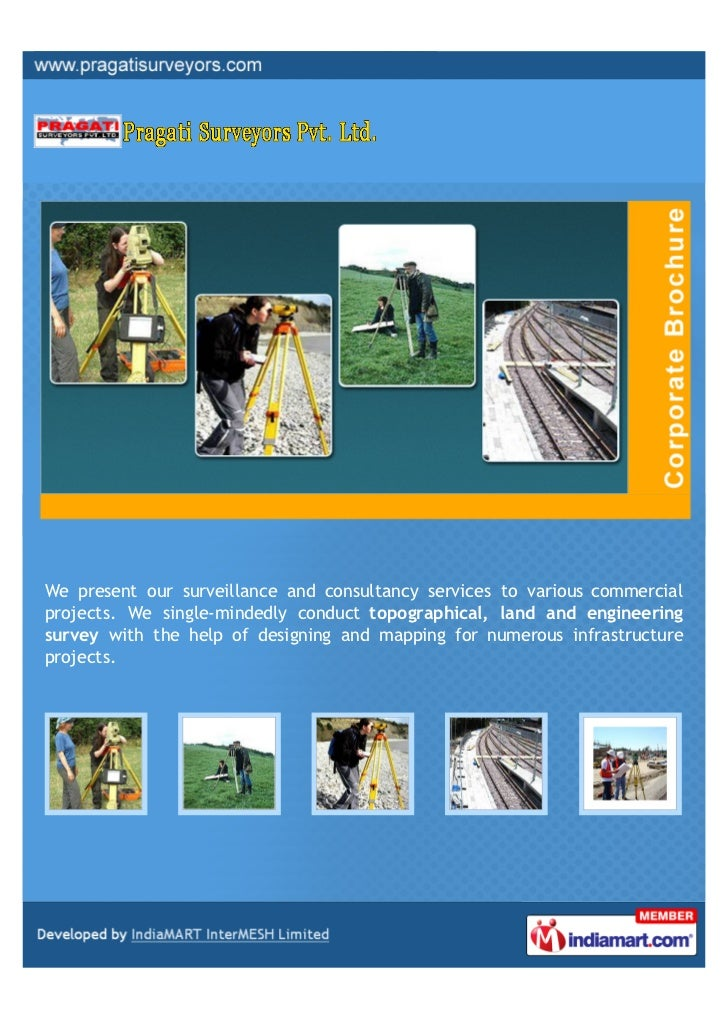 We present our surveillance and consultancy services to various commercialprojects. We single-mindedly conduct topographic...