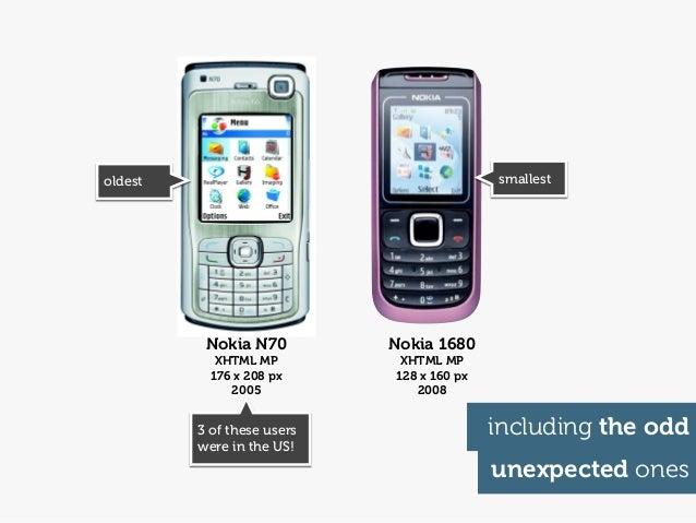 oldest                                     smallest          Nokia N70         Nokia 1680            XHTML MP         XHTM...