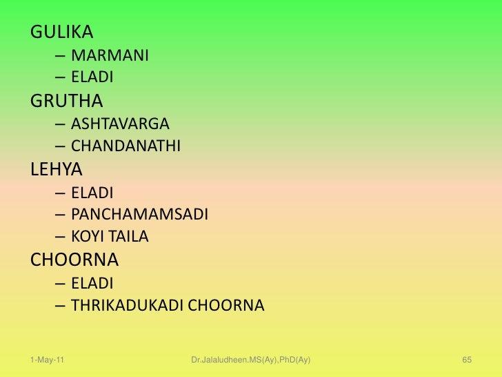 Maŕmakshatasamanyachikiťsa (maŕmaghata)<br />Maŕma therapy is based on the panchabhuta and tridoshã theory of ayurveda. <b...