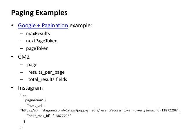 Pragmatic REST APIs