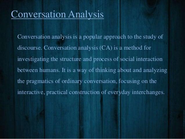 Pragmatics: Conversation and Preference Structure Slide 2