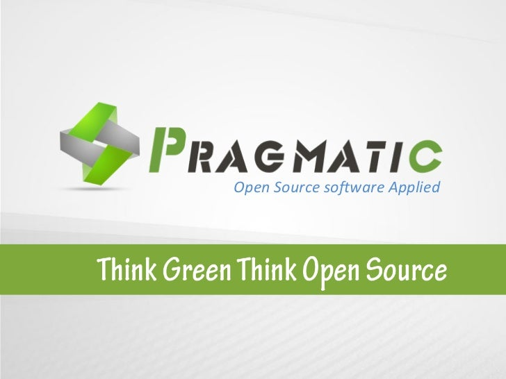 Open Source software Applied