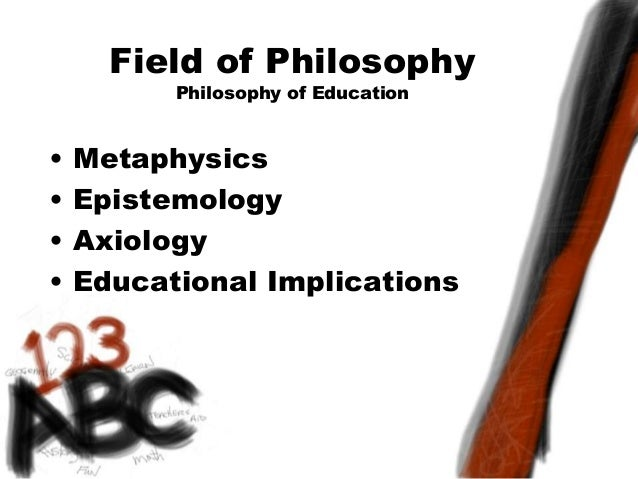 Describe each area of philosophy; metaphysics, epistemology, axiology, and logic?