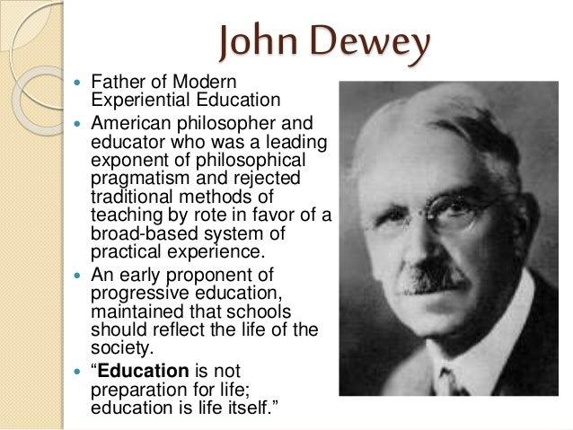Dewey's Political Philosophy