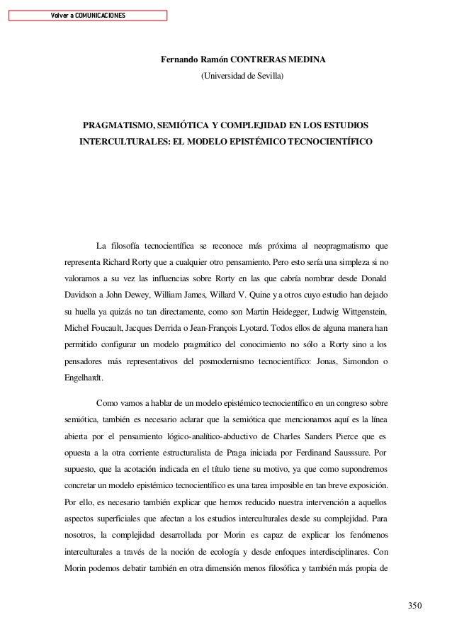 Volver a COMUNICACIONES                                Fernando Ramón CONTRERAS MEDINA                                    ...