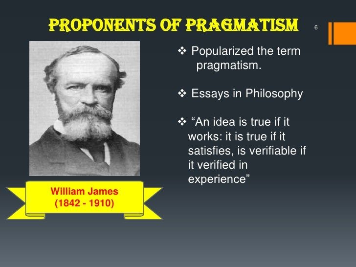 Pragmatism and four essays from the meaning of truth