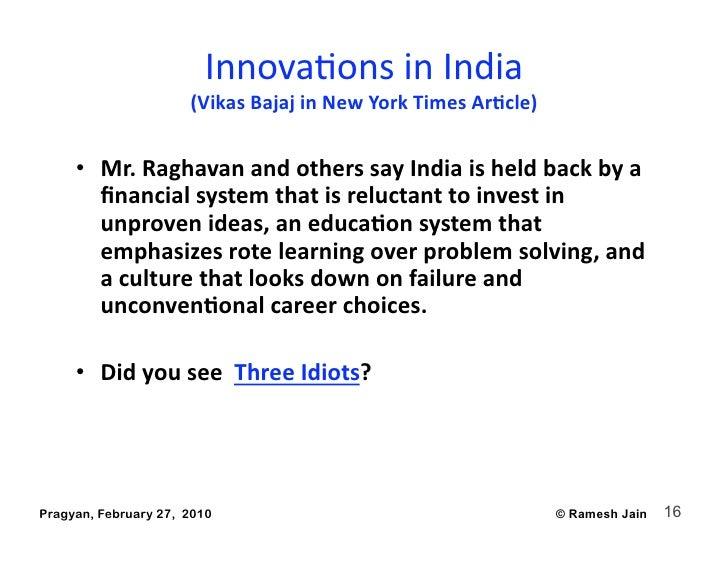InnovaAonsinIndia                       (VikasBajajinNewYorkTimesAr4cle)                                         ...